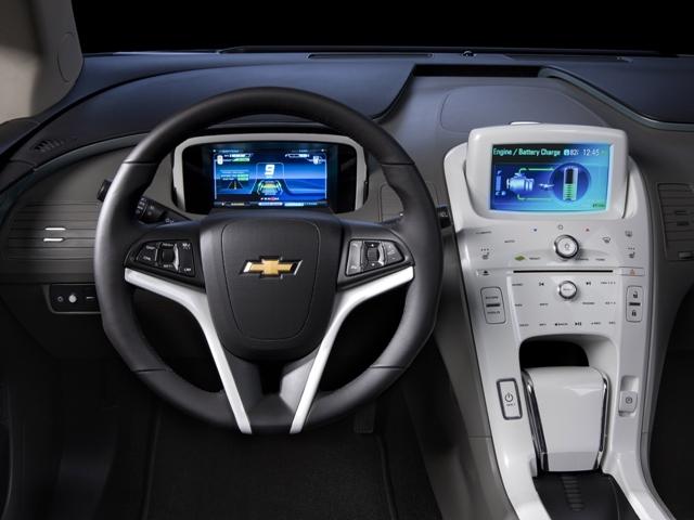 Внутренний дизайн автомобиля Шевроле Вольт