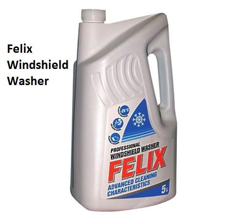 Felix Windshield Washer - незамерзающая жидкость для стекол