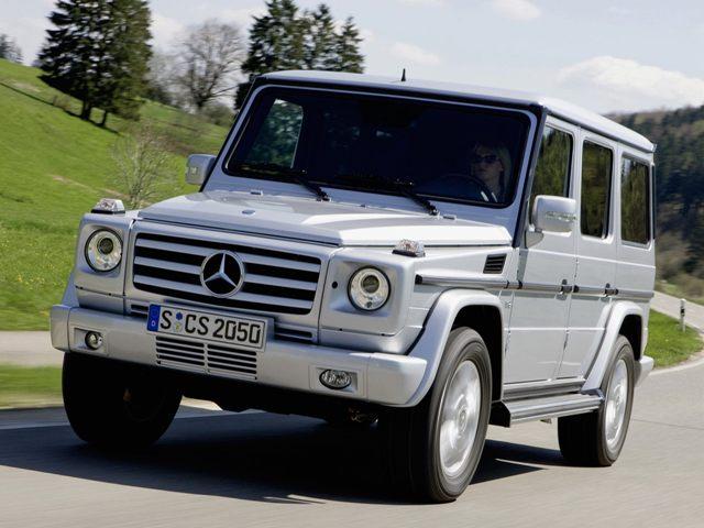 Мерседес-Бенц G-класса - всемирно известный и крайне популярный автомобиль