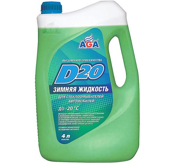 Отечественная незамерзающая жидкость AGA D20