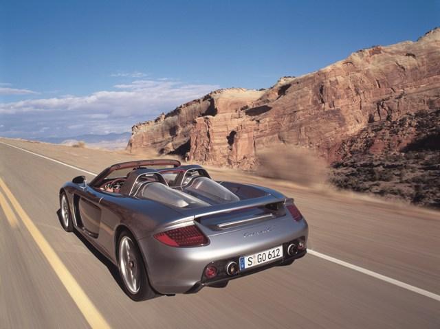 Мужской автомобиль Porsche Carrera GT