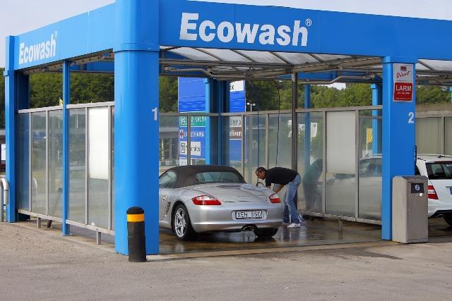Самостоятельная помывка автомобиля на мойках самообслуживания