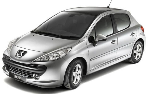Первое место Peugeot 207