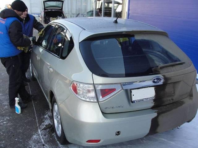 Мойка автомобиля без воды