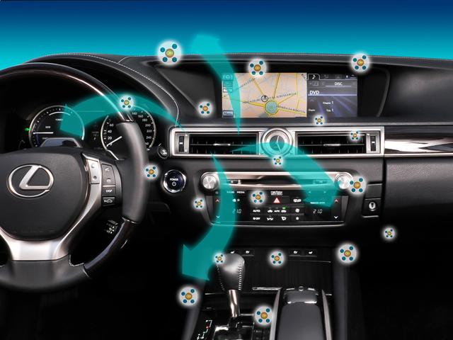 Ионизатор воздуха в салоне автомобиля