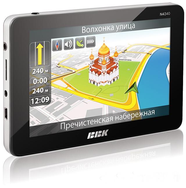 Современный GPS навигатор
