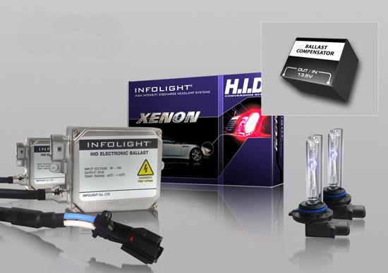 блок управления и лампы от компании InfoLight