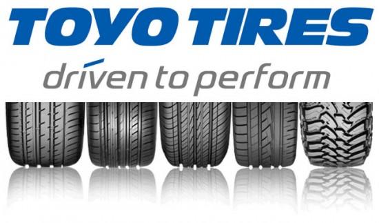 Шины от компании Toyo Tire & Rubber