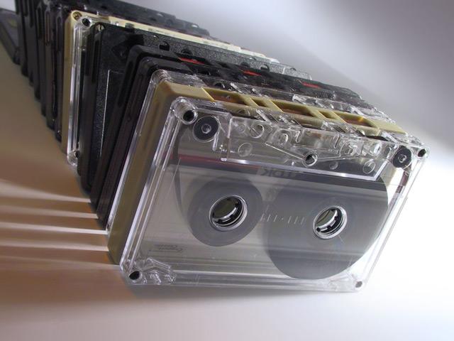 Уже сегодня аудиокассеты можно смело называть раритетом
