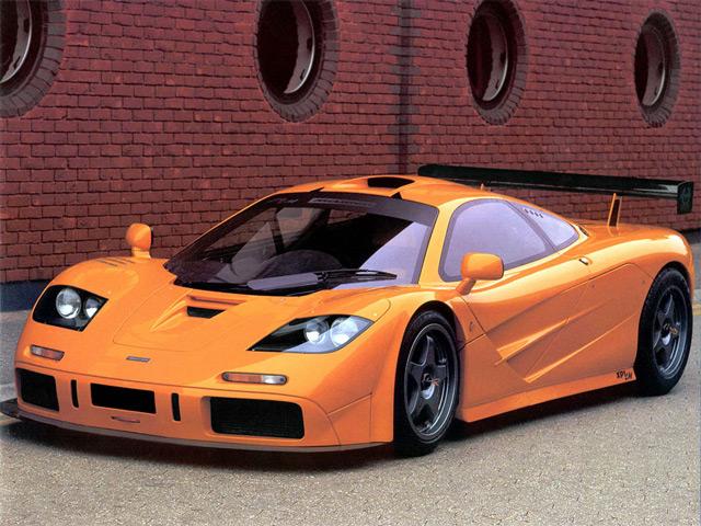 Автомобиль МcLaren F1 LM