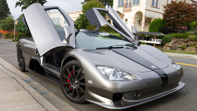 Автомобиль SSC Ultimate Aero