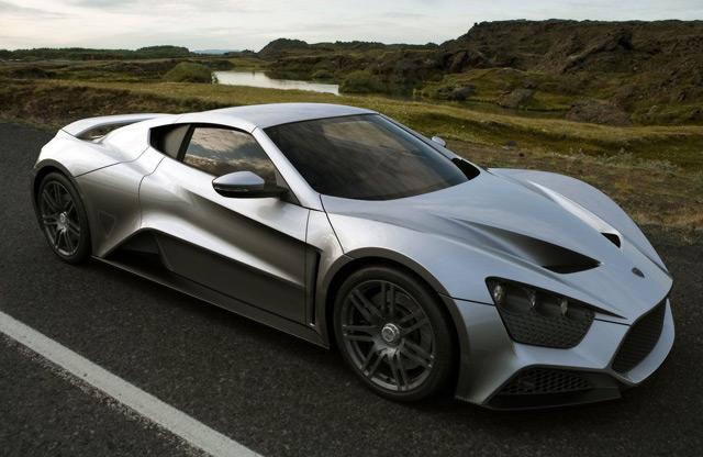 Автомобиль Zenvo ST1