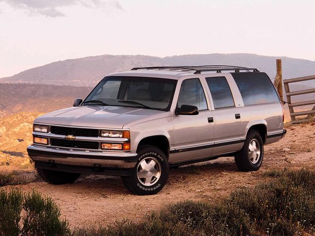 Автомобиль Chevrolet Suburban
