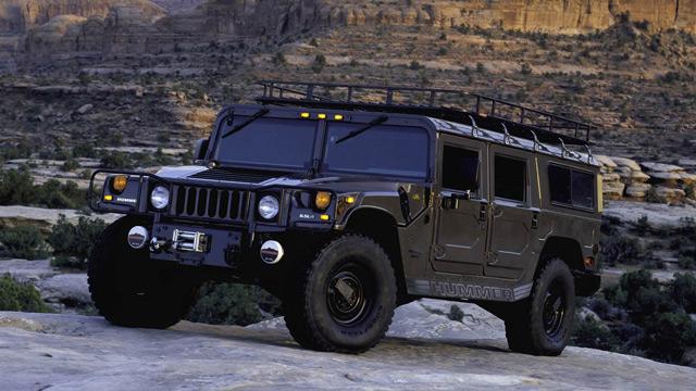 Автомобиль Hummer H-1