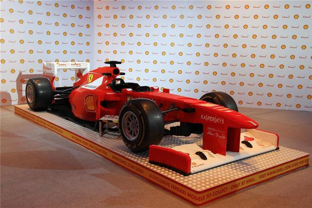 Ferrari из Лего
