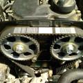 Ременной привод клапанов автомобиля