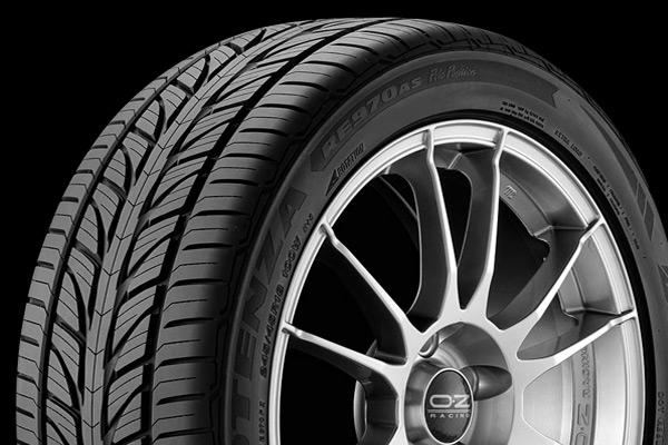 Почётное второе место - шины Bridgestone Potenza RE970AS