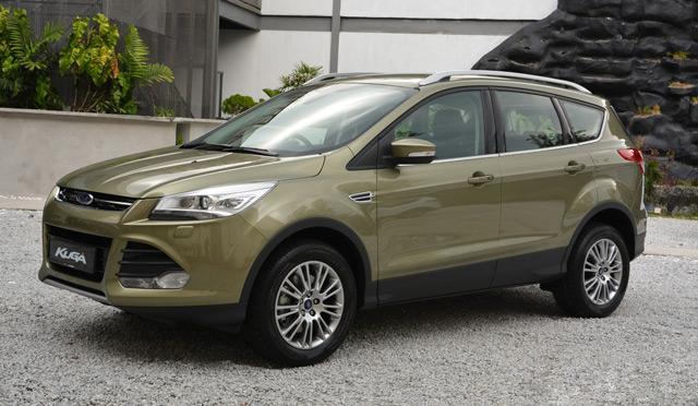 АвтомобильFord Kuga имеет неброскийдля внедорожника внешний вид