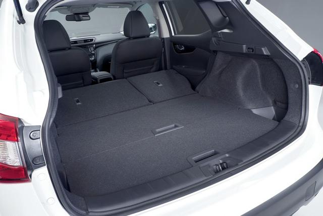 В багажникеNissan Qashqai нелегко разместить крупногабаритный груз