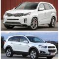 Chevrolet Captiva и Kia Sorento - какой же кроссовер лучше?