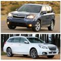 Subaru Оutback иSubaru Forester - японский универсал против японского внедорожника