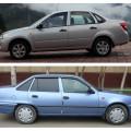 LADA Granta и Daewoo Nexia - бюджетные автомобили, пользующиеся популярностью на российском рынке