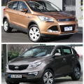 Ford Kuga и KIA Sportage – комфорт против стиля