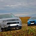 Известные японские кроссоверы -Mazda CX-5 и Mitsubishi Outlander