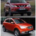 SsangYong Actyon и Nissan Qashqai - оба кроссовера заслуживают внимание отечественного потребителя