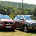 Кроссоверы Sportage и Hyundai Tucson – что лучше подходит для российских дорог