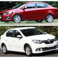 Chevrolet Aveo и Renault Logan - это те автомобили, которые могут заставить покупателя встать перед сложным выбором