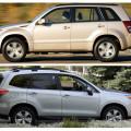 Suzuki Grand Vitara и Subaru Forester - популярные японские кроссоверы