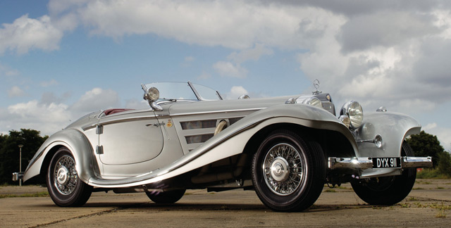 Автомобиль Mercedes-Benz 540 K Spezial Roadster