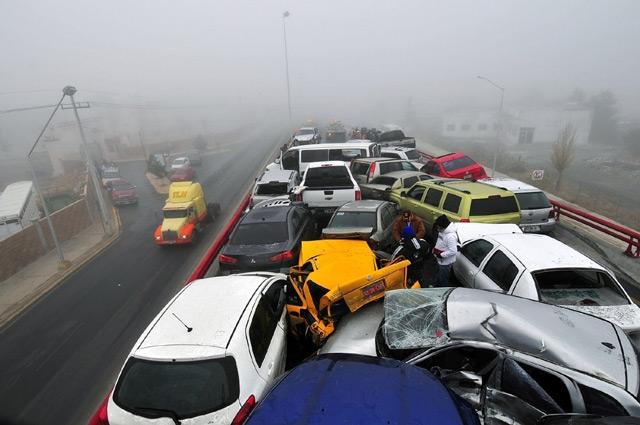 Фото с аварии в штате Теннесси