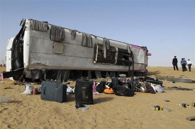 Фото с места египетской аварии