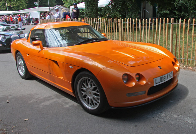 Автомобиль компанииBristol Cars