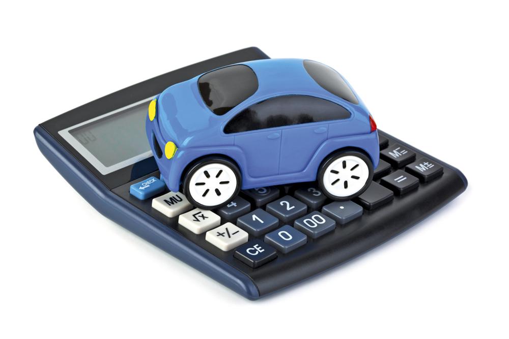 Автомобиль на калькуляторе