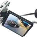 Видеорегистратор с поворотным дисплеем и выносной камерой