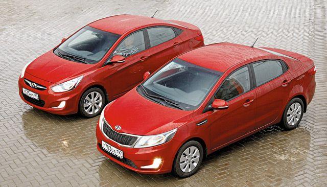 Автомобили KIA и Hyundai