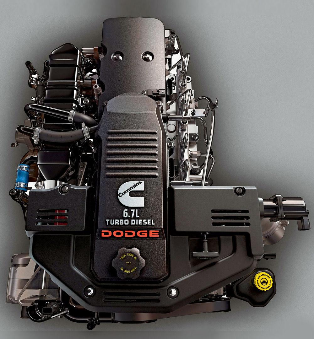 Двигатель автомобиляDodge Ram