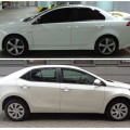 Mitsubishi Lancer и Toyota Corolla
