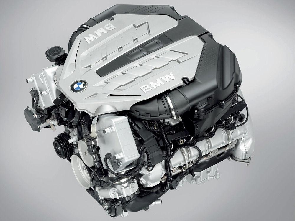 Дизельный двигатель BMWX6