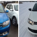 Renault Logan и Volkswagen Polo