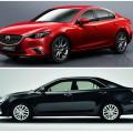 Mazda 6 и Toyota Camry