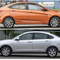Hyundai Solaris и Nissan Almera