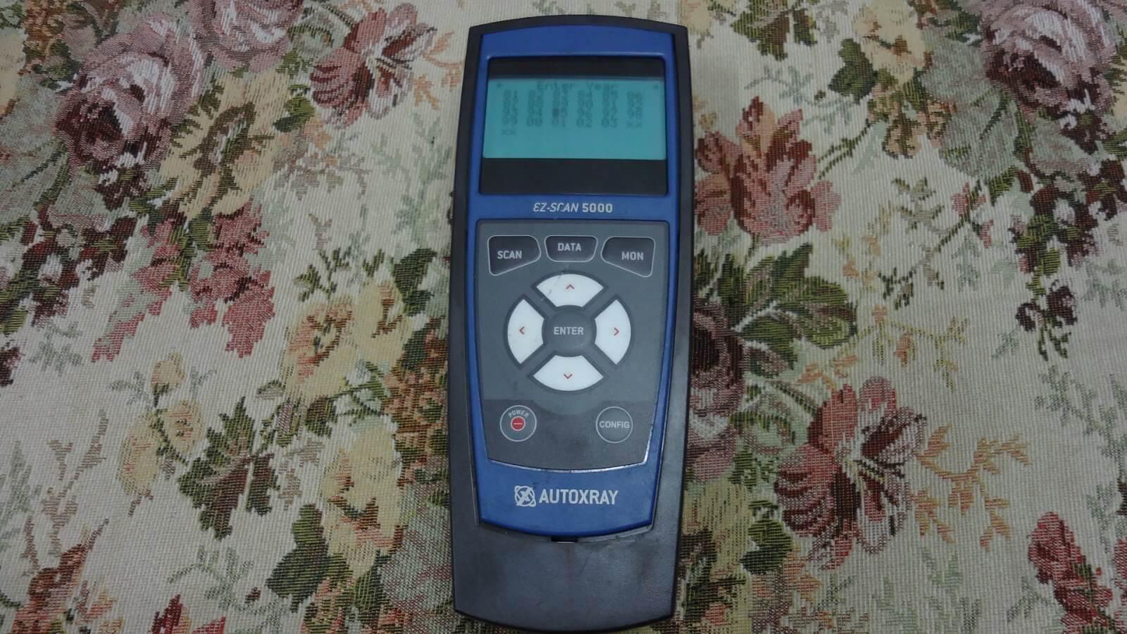 Autoxray 5000 ez obd2 сканер