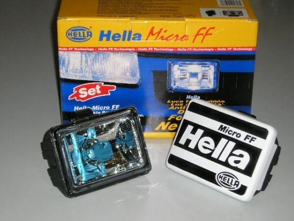Фары Hella Micro FF