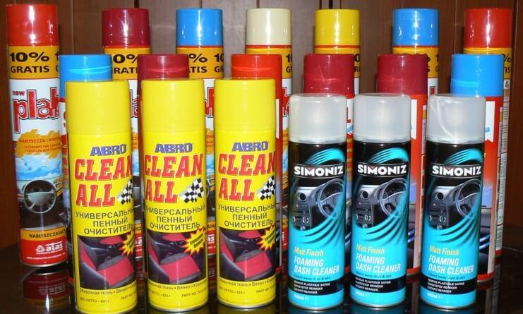 Очистители для салона автомобиля