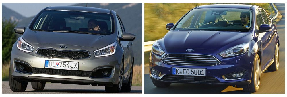 KIA Cee'd и Ford Focus