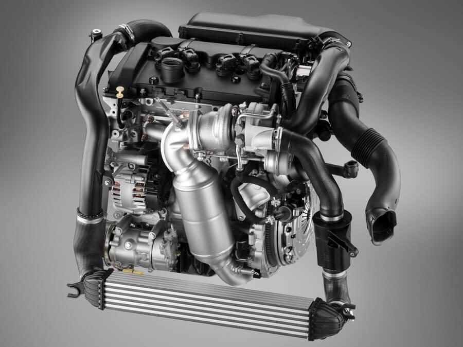 Турбо-двигатель Opel
